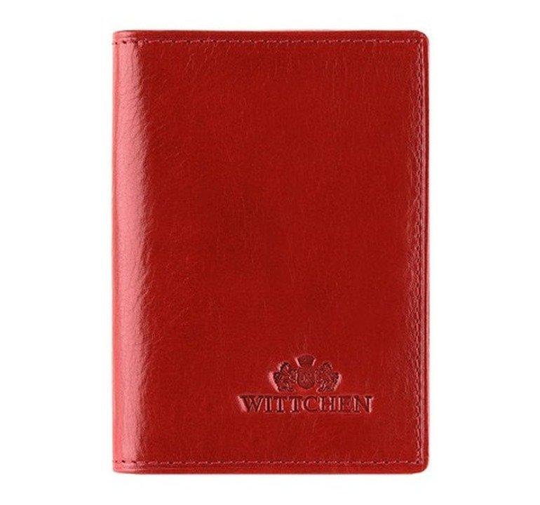 e28135e843ca6 Etui na wizytówki dokumenty WITTCHEN Italy 21-2-260 czerwony ...