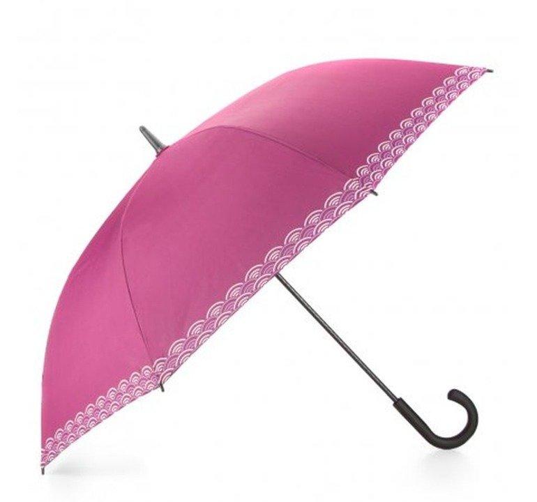 09f840422bc72 Parasol Parasolka Wittchen PA-7-160 różowo - biały | GALANTERIA ...
