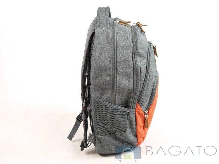 plecak travelite basics melange na laptop 15 6 39 39 22l. Black Bedroom Furniture Sets. Home Design Ideas