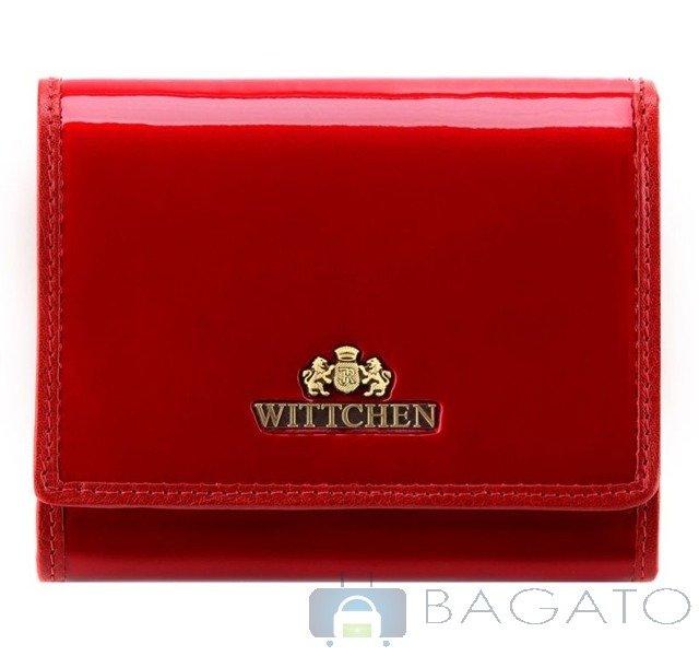 3c5d6b9280af9 Portfel portmonetka damska Wittchen VERONA 25-1-070 czerwony ...