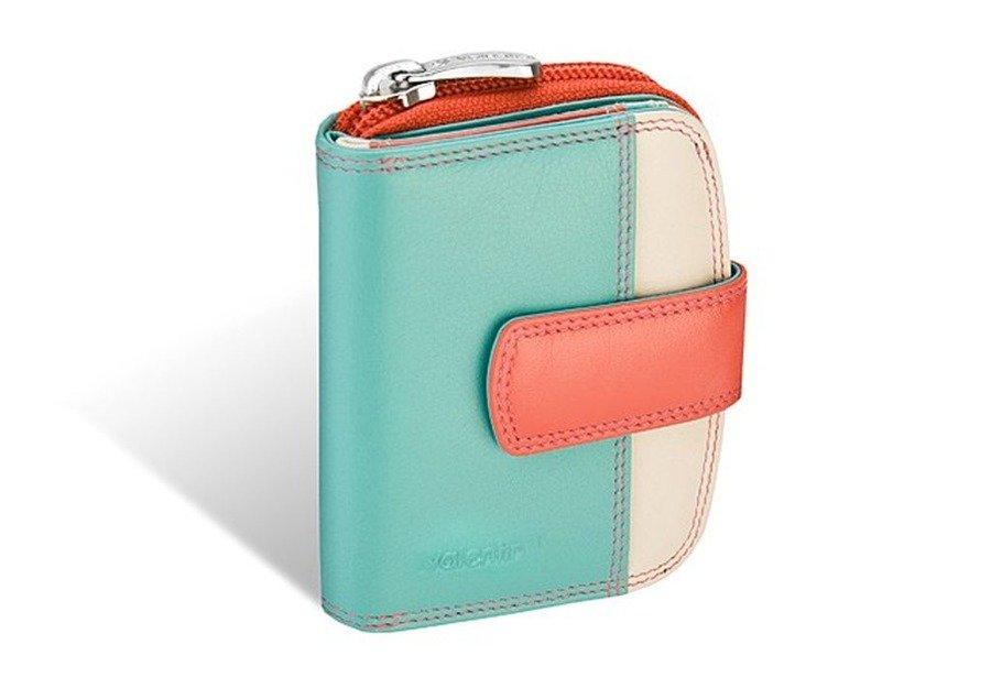 f863868297671 Portfel portmonetka damski Valentini Colors 01-123-0P8K różowy ...