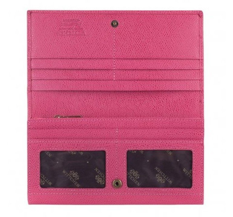 ac71b5c69bcd3 Portfel poziomy damski Wittchen Palermo 13-1-048 różowy