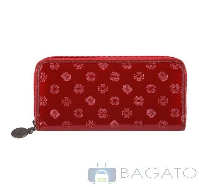 109ee3bb2b833 Portfel poziomy damski Wittchen Signature 34-1-393 czerwony ...