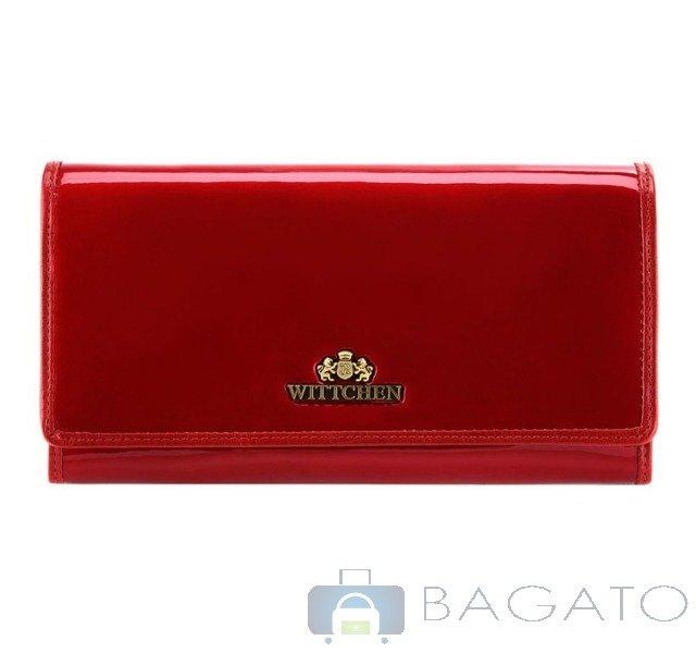 62711db8d2a8c Portfel poziomy damski Wittchen VERONA 25-1-052 czerwony ...