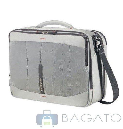 29c520f122f2c Torba kabinowa Plecak SAMSONITE 4MATION laptop 16'' srebrny   BAGAŻ ...