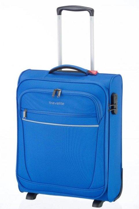 53d01b3fa29e6 WALIZKA TRAVELITE CABIN kabinowa 2koła 44l 1,9kg niebieski | BAGAŻ ...