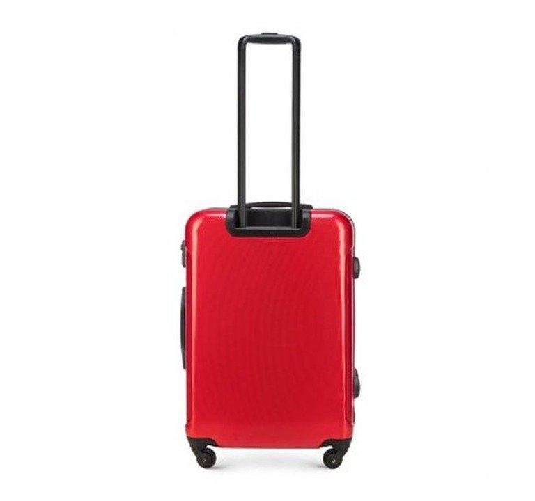 7036ae476ea46 Walizka WITTCHEN STROLL LINE średnia 4koła 58l czerwony | BAGAŻ ...