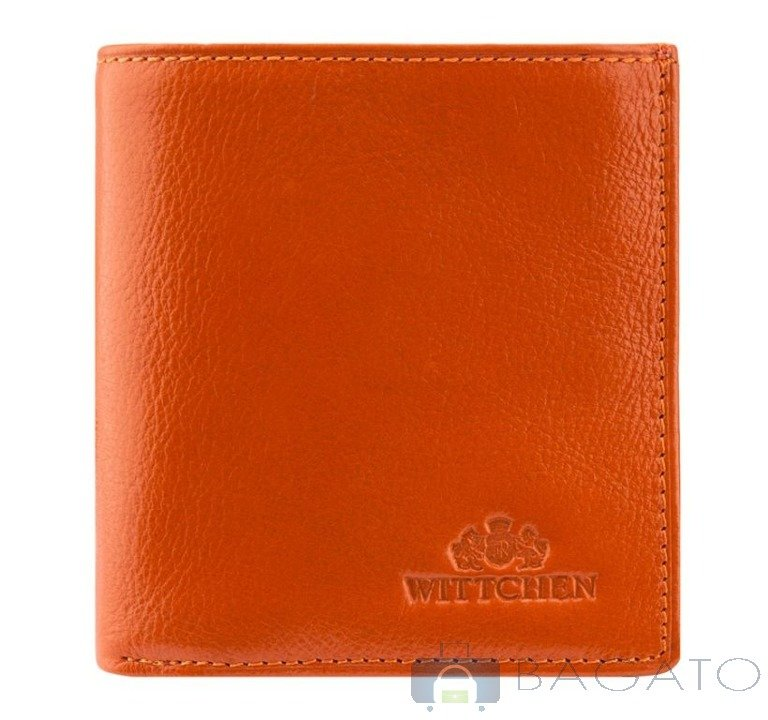 fc9bb32a3c17e Portfel poziomy unisex Wittchen ITALY 21-1-065 pomarańczowy ...