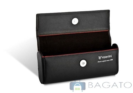 Etui na okulary Valentini BLACK & RED DIAMOND