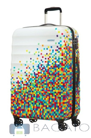 walizka AT by SAMSONITE PALM VALLEY Pixel Print duża 4koła 88,5l